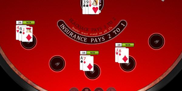Multi Hand Blackjack MCPcom Oryx Gaming3