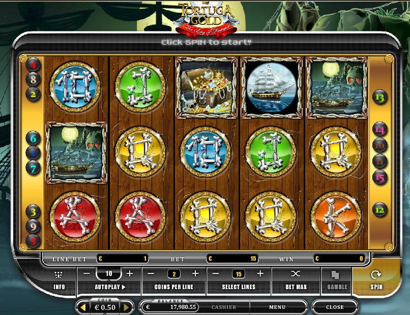 Tortuga gold MCPcom Oryx Gaming