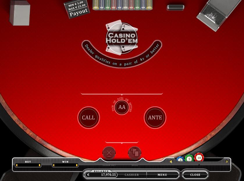 Casino Hold'em MCPcom Oryx Gaming