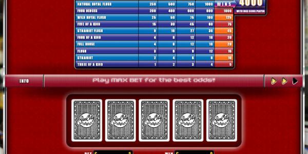 Deuces Wild MCPcom Oryx Gaming