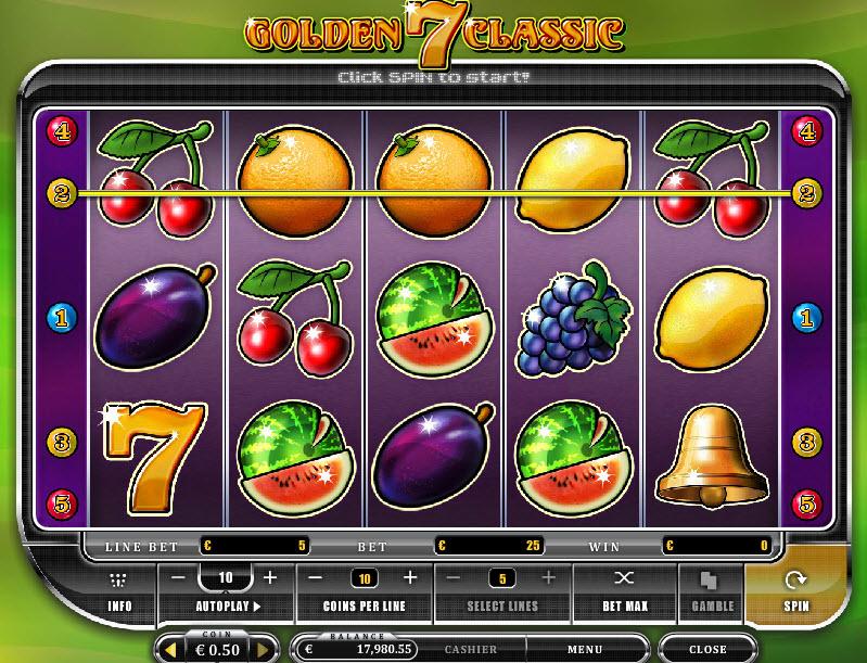 Golden 7 Classic MCPcom Oryx Gaming