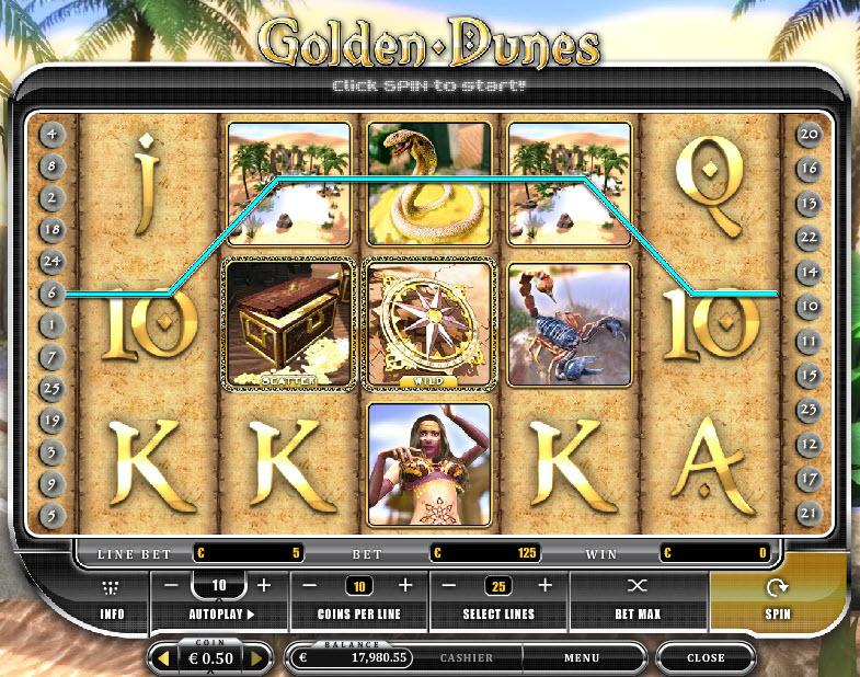 Golden Dunes MCPcom Oryx Gaming