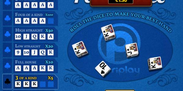 Poker Dice MCPcom PariPlay3