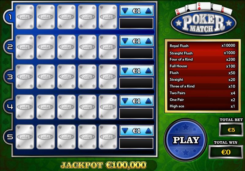 Poker Match MCPcom PariPlay
