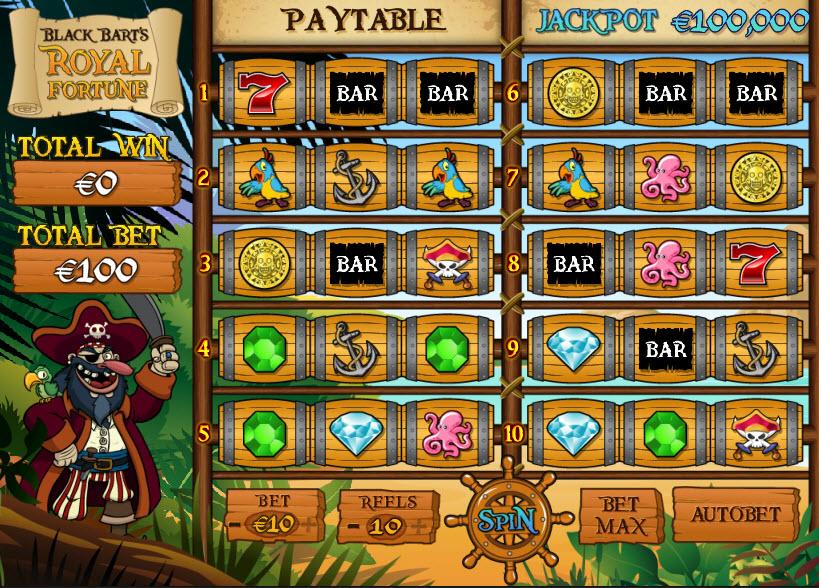 Royal Fortune MCPcom PariPlay