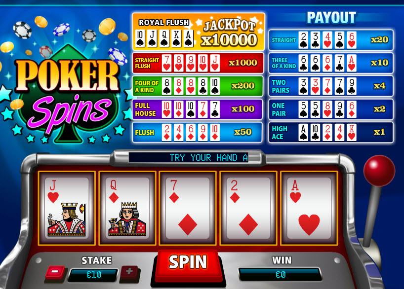 Poker Spins MCPcom PariPlay