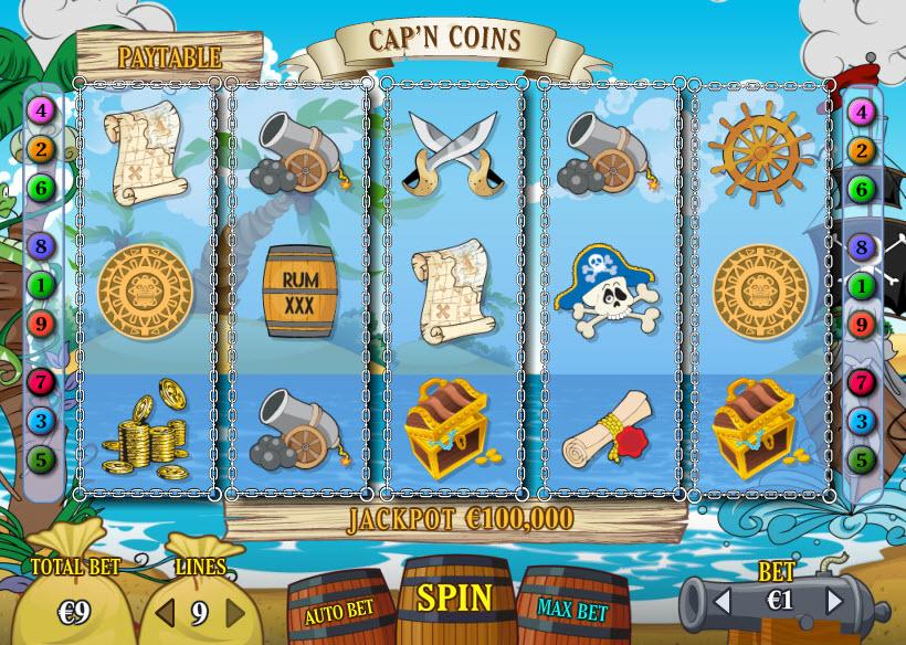 Cap'n Coins MCPcom PariPlay