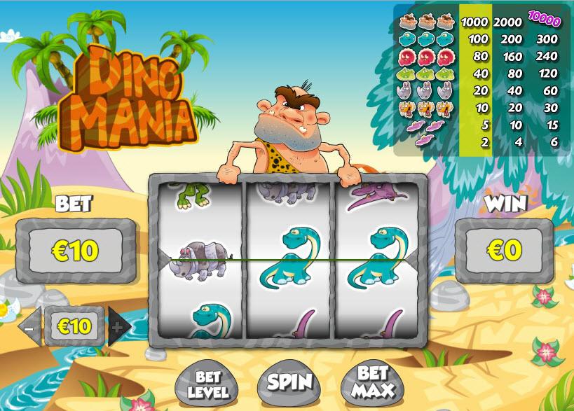 Dinomania MCPcom PariPlay