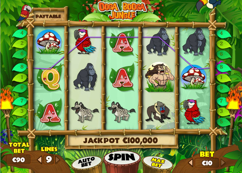 Ooga Booga Jungle MCPcom PariPlay