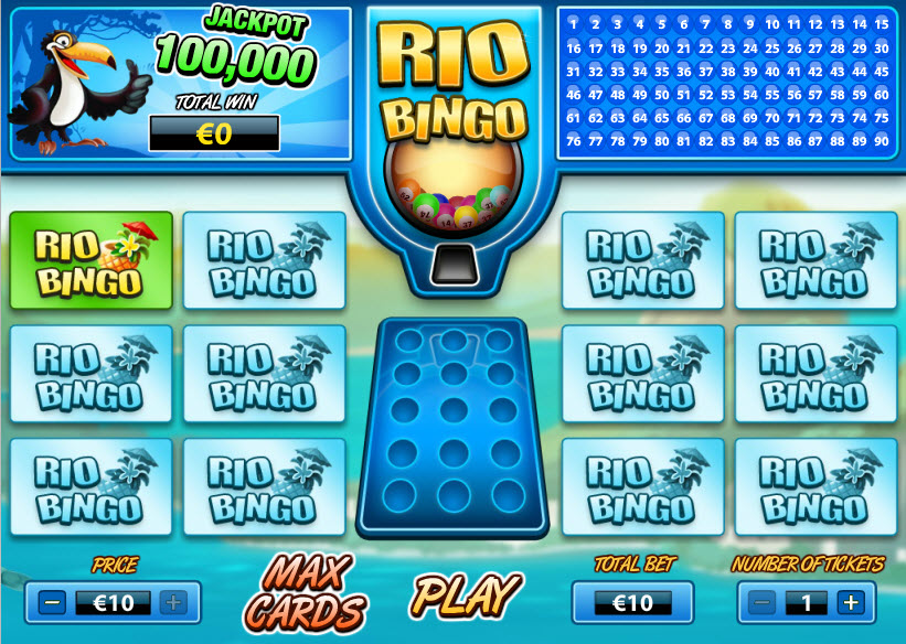 Rio Bingo MCPcom PariPlay