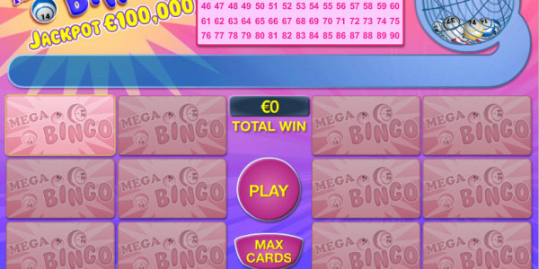 Mega Bingo MCPcom PariPlay