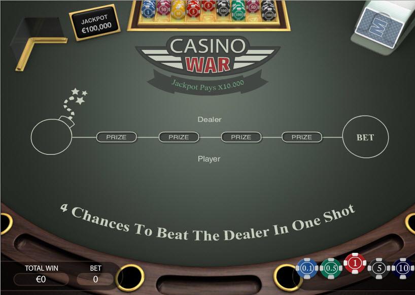 Casino War! MCPcom PariPlay