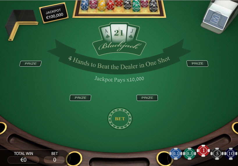 Blackjack Instant-Win MCPcom PariPlay
