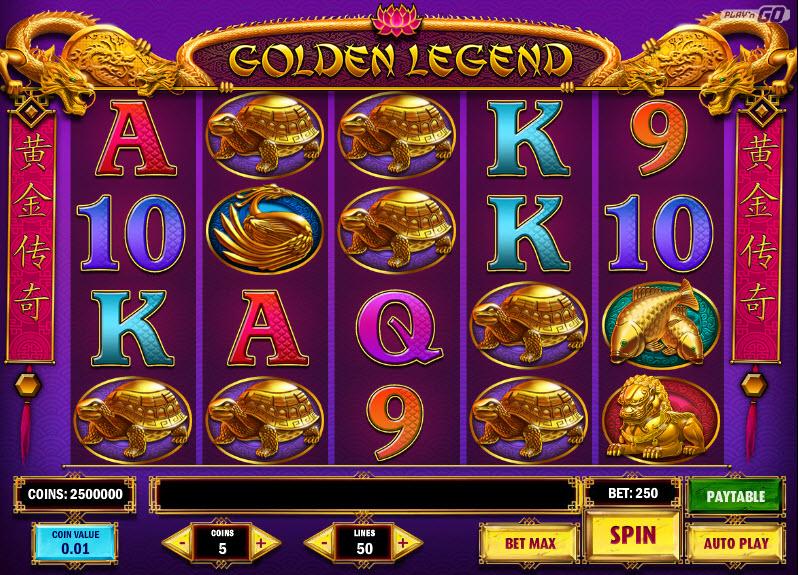 Golden Legend MCPcom Play'n GO