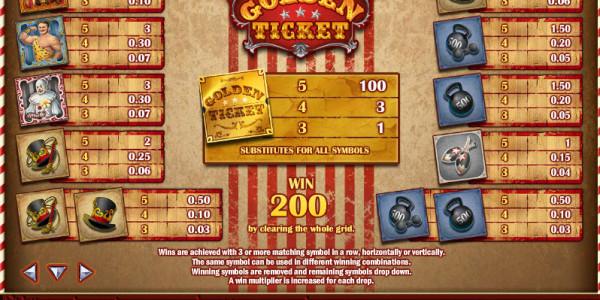 Golden Ticket MCPcom Play'n GO pay