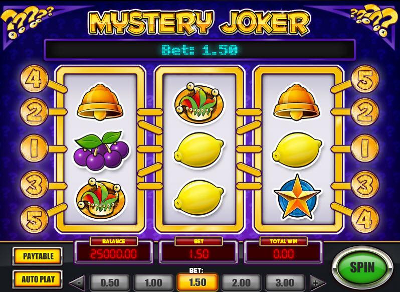 Mystery Joker MCPcom Play'n GO
