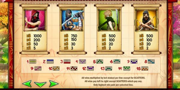 Ninja Fruits MCPcom Play'n GO pay2