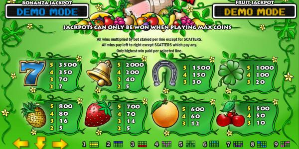 Fruit Bonanza MCPcom Play'n GO pay2