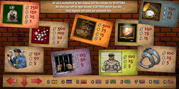 Cops n Robbers MCPcom Play'n GO pay2