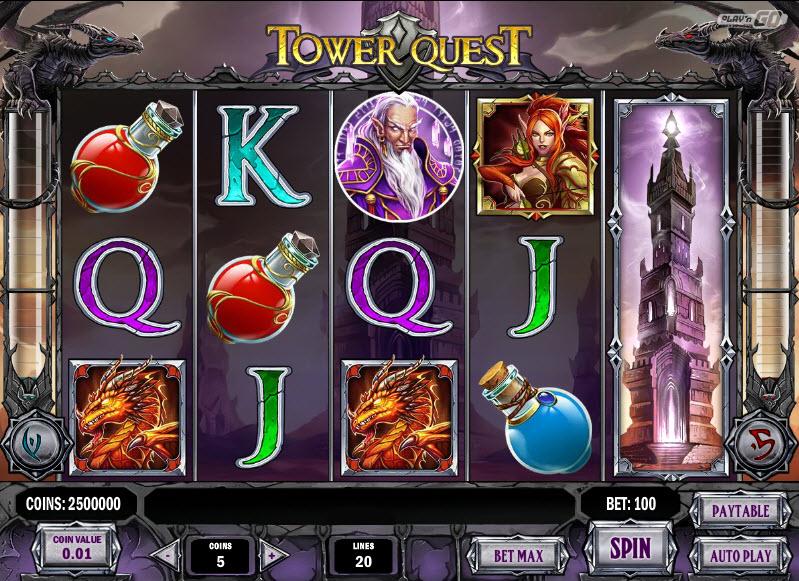 Tower Quest MCPcom Play'n GO
