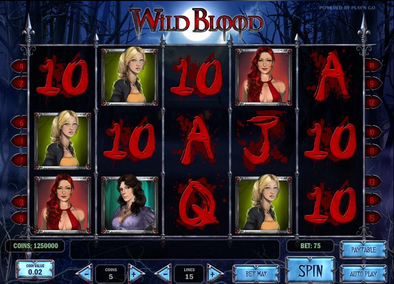 Wild Blood MCPcom Play'n GO