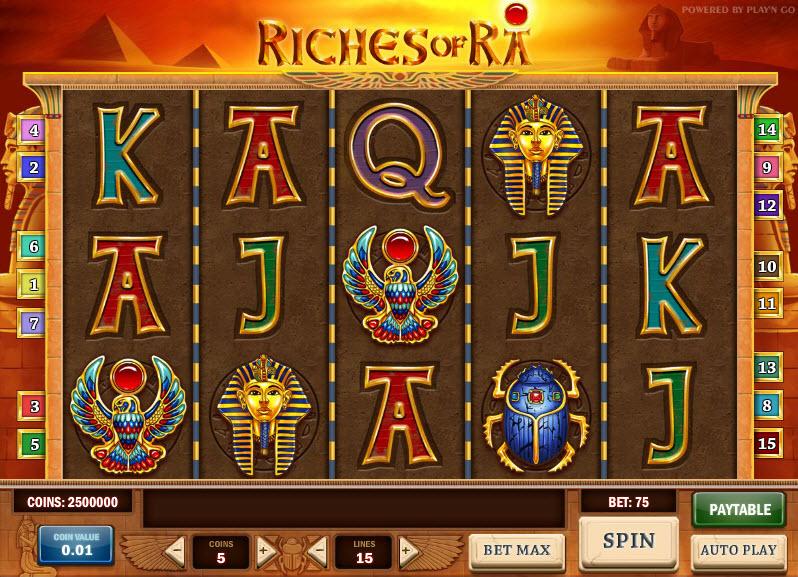 Riches of RA MCPcom Play'n GO