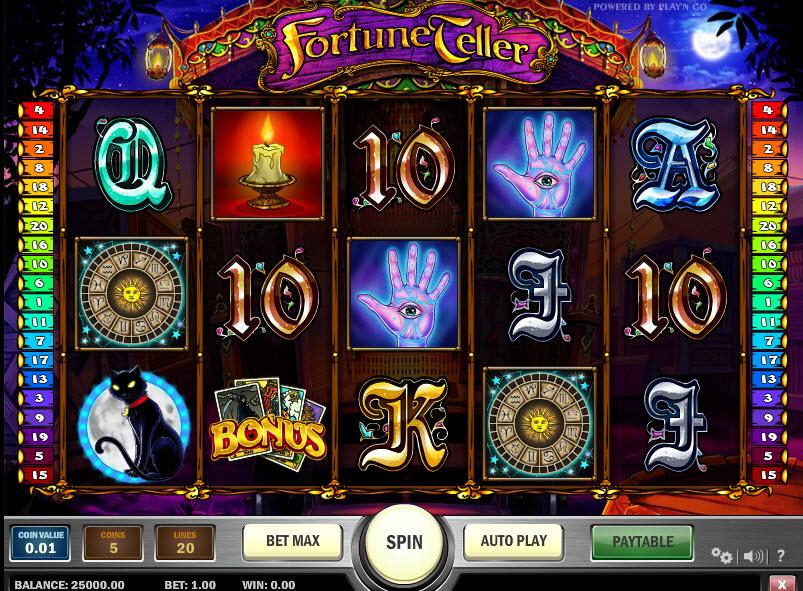Fortune Teller MCPcom Play'n GO