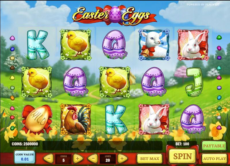 Easter Eggs MCPcom Play'n GO