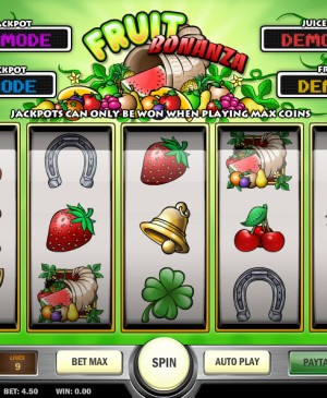 Fruit Bonanza MCPcom Play'n GO