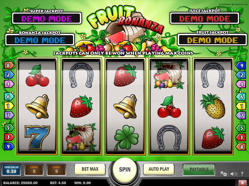 Fruit Bonanza MCPcom Play'n GO