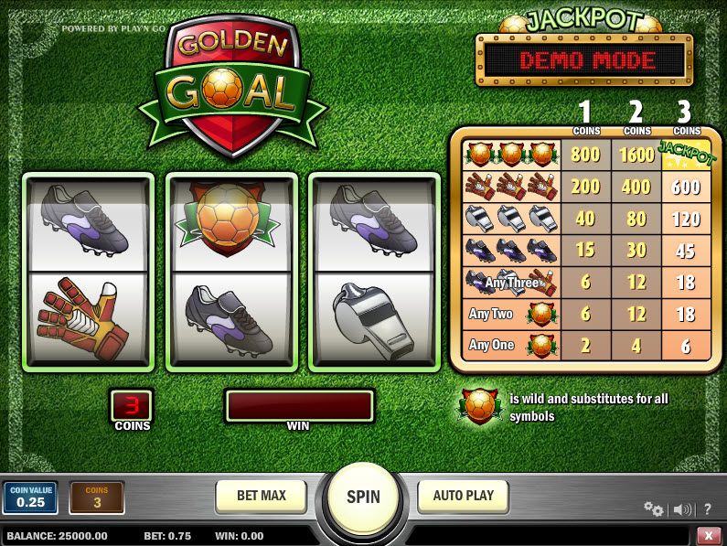Golden Goal MCPcom Play'n GO