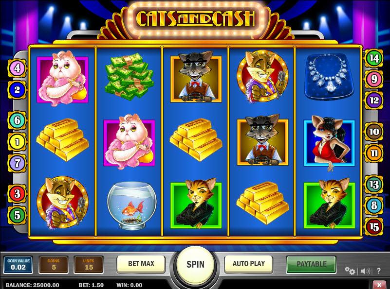 Cats & Cash MCPcom Play'n GO