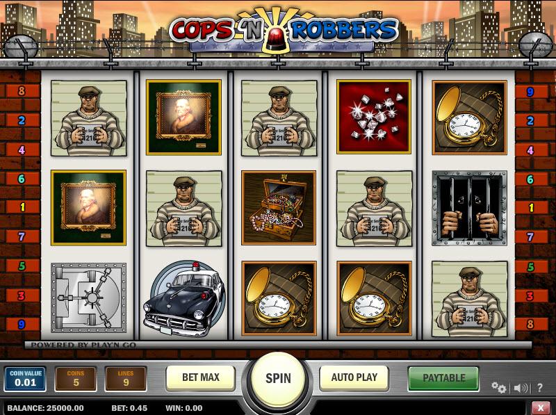 Cops n Robbers MCPcom Play'n GO