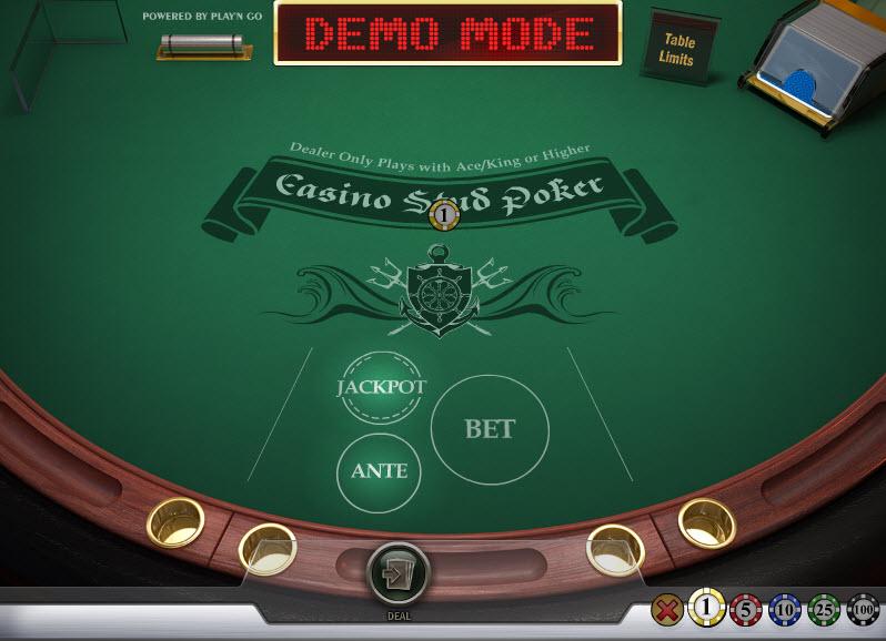 Casino Stud Poker MCPcom Play'n GO