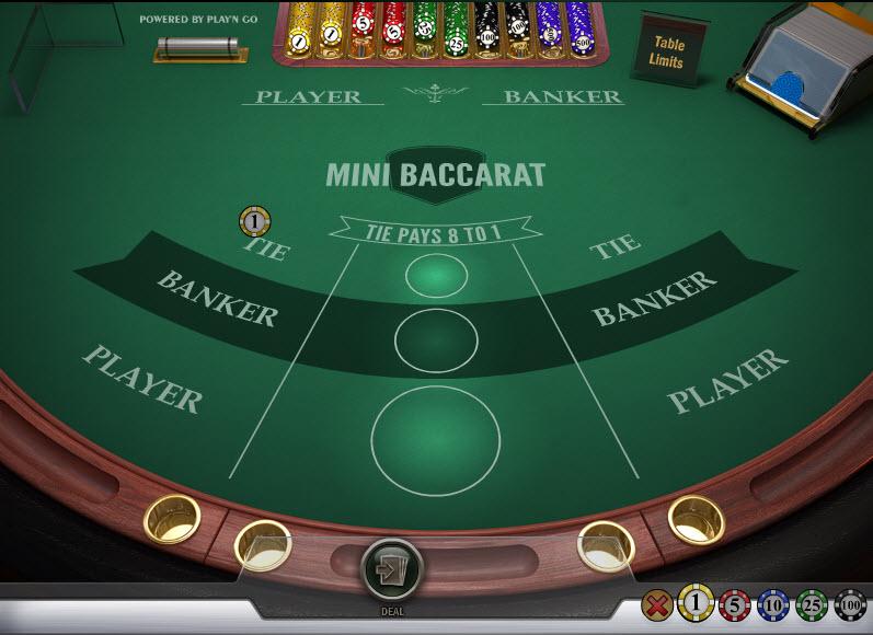 Mini Baccarat MCPcom Play'n GO