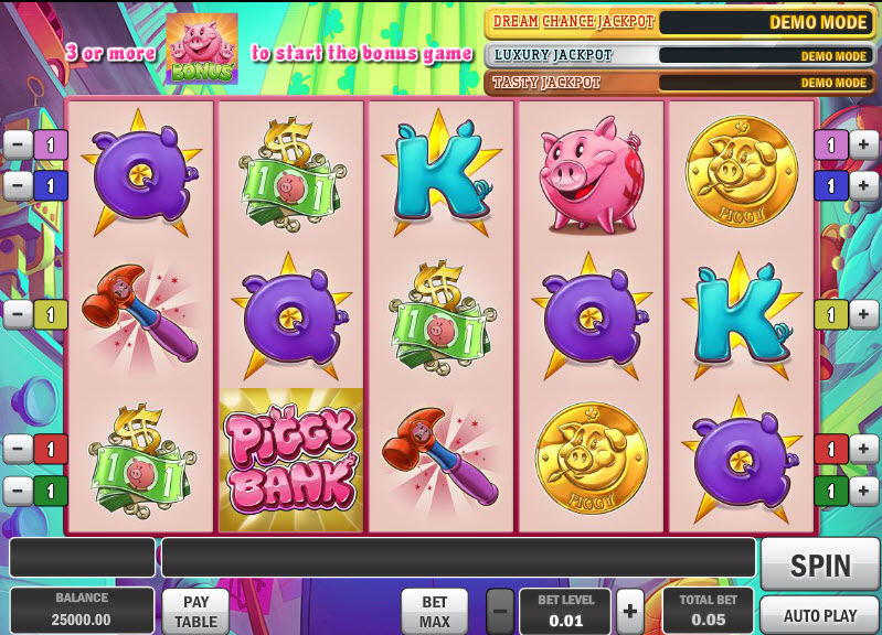 Piggy Bank MCPcom Play'n GO