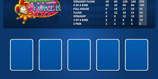 Joker Poker MH MCPcom Play'n GO