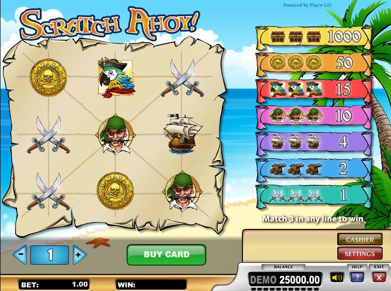 Scratch Ahoy MCPcom Play'n GO