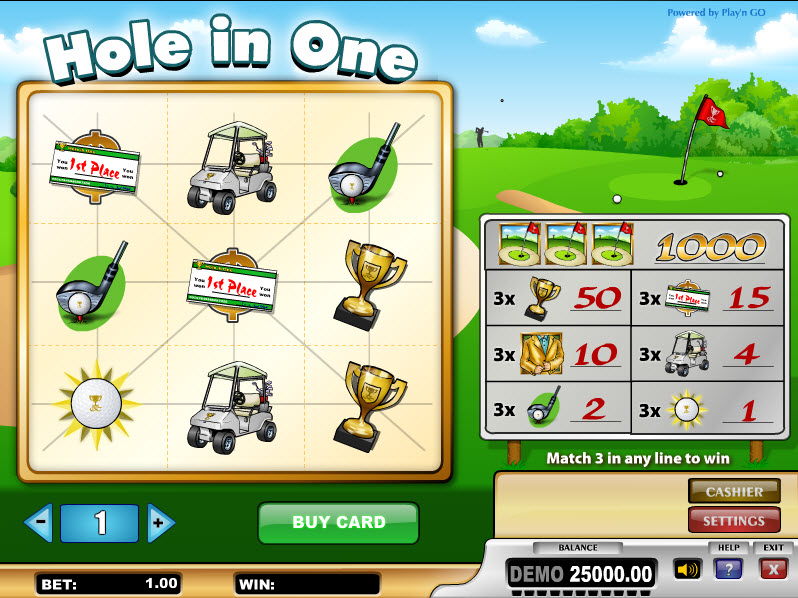 Hole in One MCPcom Play'n GO