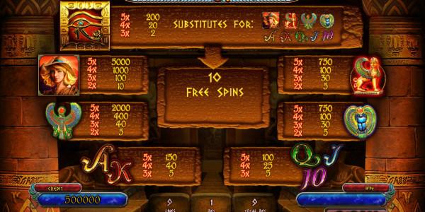 Treasures Of Tombs Free MCPcom Playson (Globotech) pay