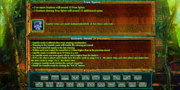 Spirits of Aztec MCPcom Playson (Globotech) pay2