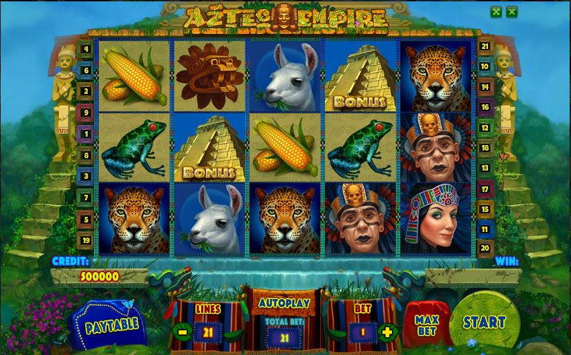 Aztec Empire MCPcom Playson (Globotech)