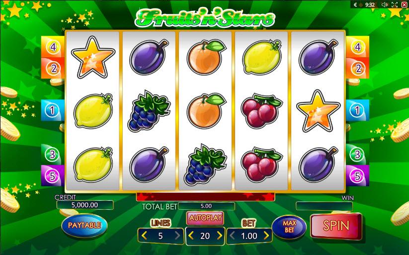 Fruits'N'Stars MCPcom Playson (Globotech)