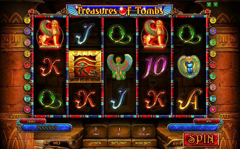 Treasures Of Tombs Free MCPcom Playson (Globotech)