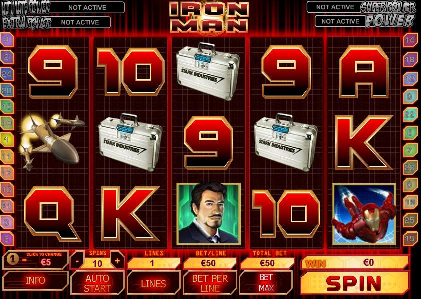 Iron Man MCPcom Playtech
