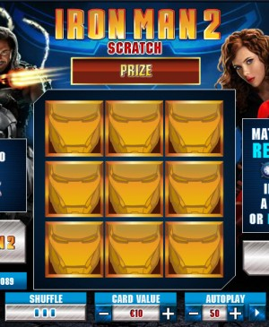 Iron Man 2 Scratch MCPcom Playtech