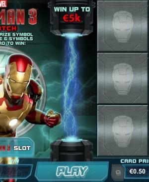 Iron Man 3 – Scratch MCPcom Playtech
