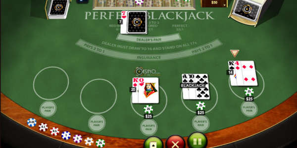 Perfect Blackjack MCPcom Playtech2