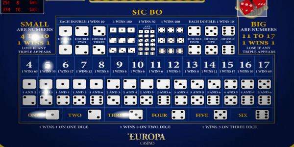 Sic Bo MCPcom Playtech2