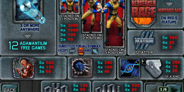 Wolverine MCPcom Playtech pay